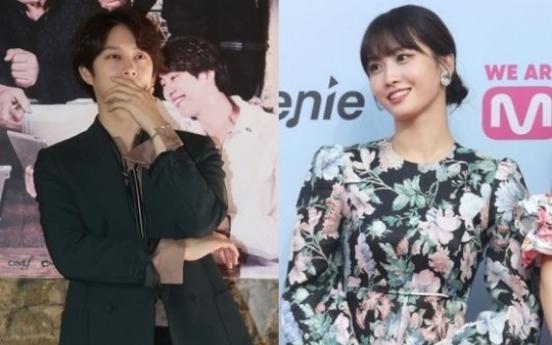 슈주 김희철·트와이스 모모, 열애 인정… 13살차이 한일 커플