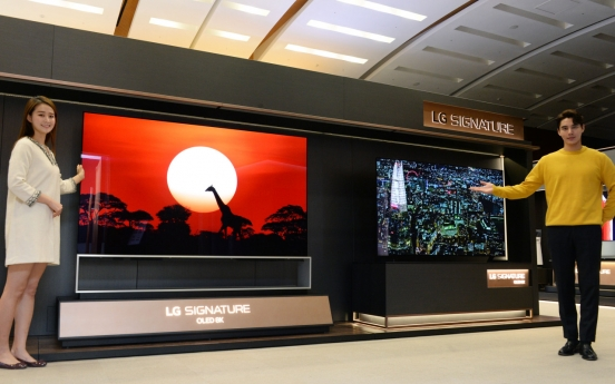 LG Electronics reinforces lineup of 8K TVs for CES