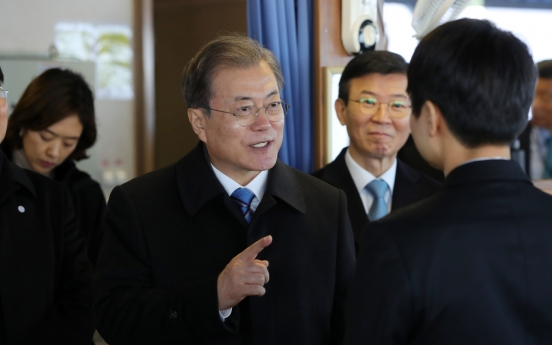 Moon vows to boost eco-friendly car industry