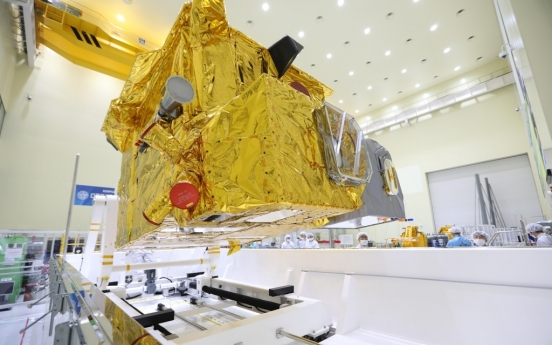 S. Korean air, ocean monitoring satellite heads to French Guiana ahead of launch
