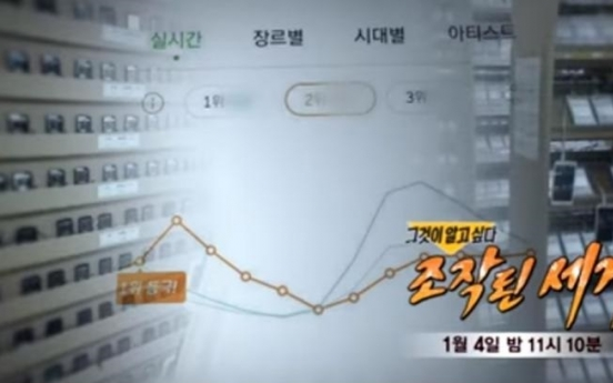 [Newsmaker] K-pop chart manipulation resurfaces after SBS investigative program