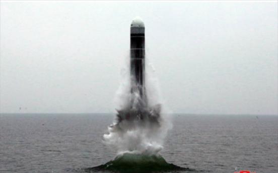 New satellite images show N. Korea's hidden submarine capable of firing ballistic missiles