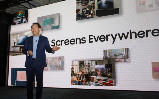 [CES 2020] Samsung to produce microLEDs for homes
