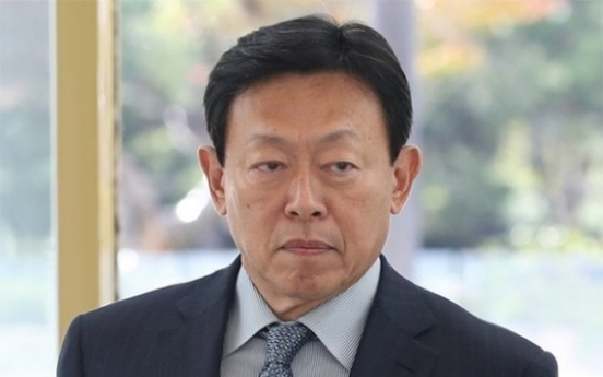[Newsmaker] Shin Dong-bin steps down as director of Lotte E&C