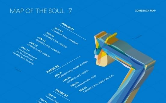 컴백 D-43 방탄소년단…17일 새 앨범 선공개곡 발표