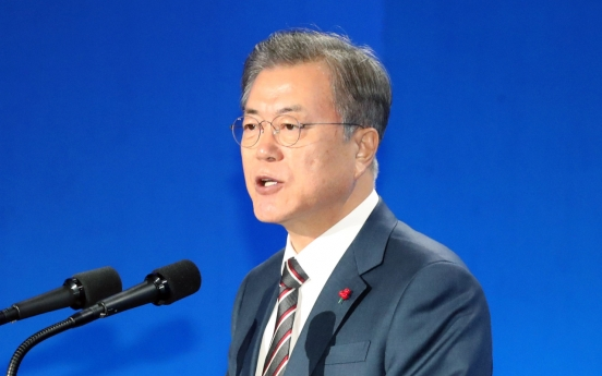 Moon to hold press conference for new year next week
