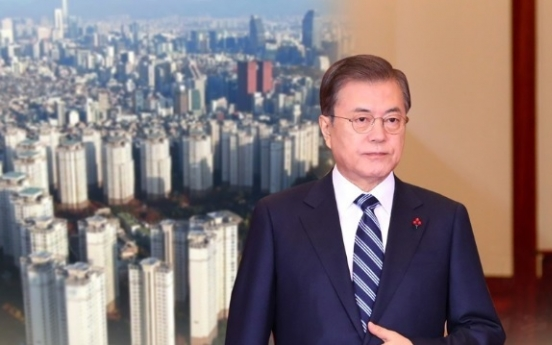 Moon's approval rating rises to 47% after 2020 message: Gallup