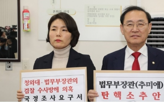Main opposition submits motion to impeach justice minister over reshuffle row