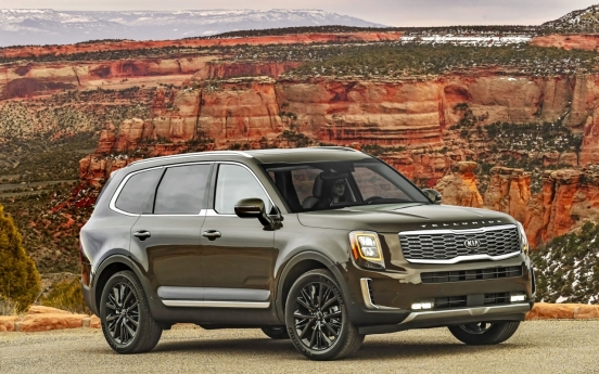 Kia's Telluride chosen as 2020 North American SUV of the Year