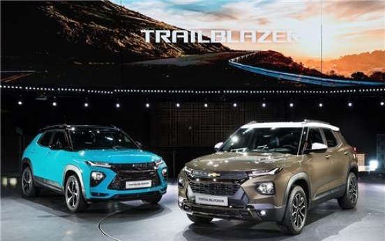 GM Korea launches Trailblazer SUV to revive sales