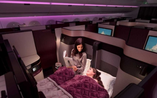 Qatar Airways introduces Qsuite on flights from Incheon