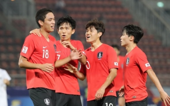 S. Korea on a roll entering knockout phase at Olympic football qualifying tournament