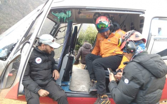 S. Korean envoy to Nepal calls for continued search efforts for 4 missing in Himalayas