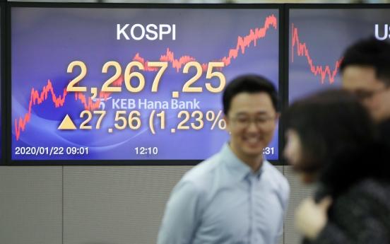 Seoul stocks trim earlier losses amid new coronavirus fear