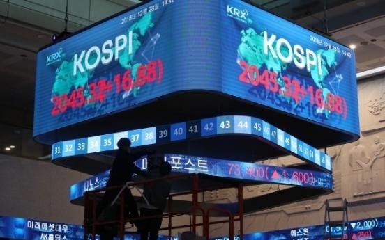 US, Japanese investors biggest players in S. Korean stock, bond markets: FSS