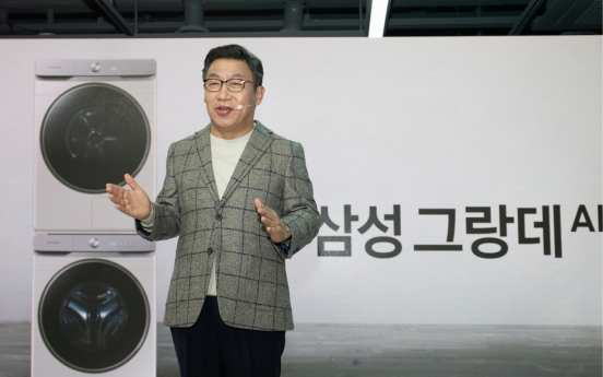 Samsung's appliance head touts upcoming Galaxy Home Mini speaker