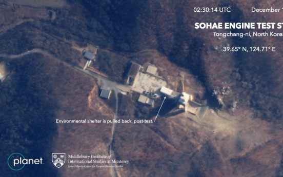 Satellite imagery suggests security patrols at NK nuclear test site