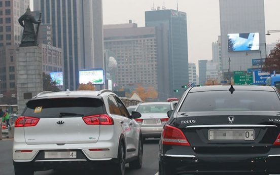 Seoul saw increase in eco-friendly vehicles