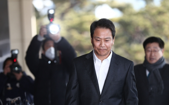 Moon's former chief of staff questioned; claims probe politically motivated