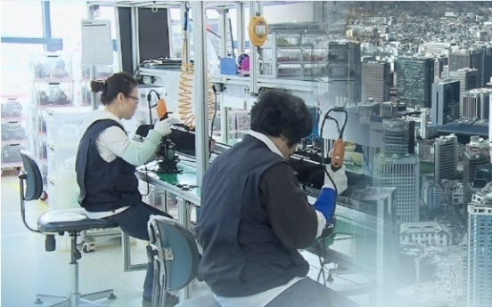 Korea's industrial output grows 1.4% in December