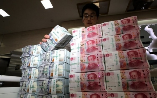 S. Korea's daily FX turnover jumps to record high in 2019
