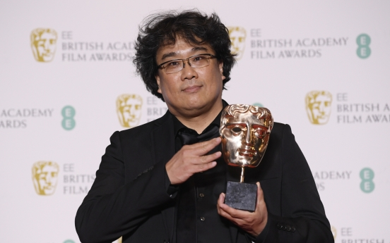 'Parasite' wins two titles at British Academy awards