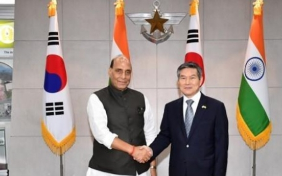 Defense chief to visit India for bilateral talks, defense expo