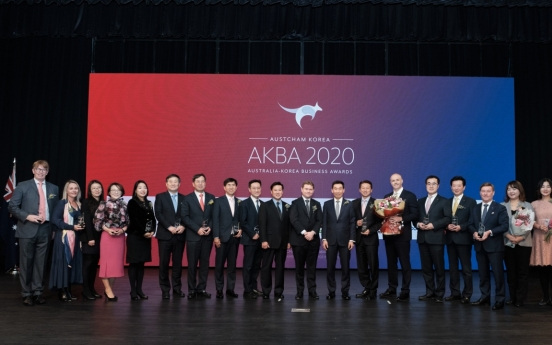 [Diplomatic circuit] Awards recognize companies contributing to Korea-Australia trade