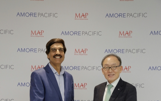 Amorepacific partners with top Indonesian retailer, expands presence in region