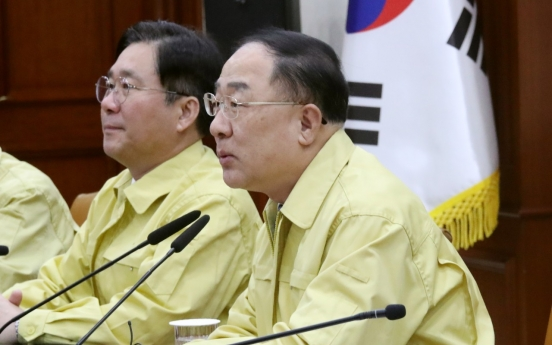 New coronavirus to strain Korean economy: finance minister