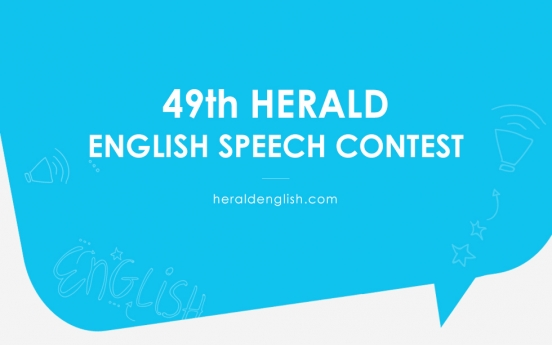 Herald to host 49th English Speech Contest