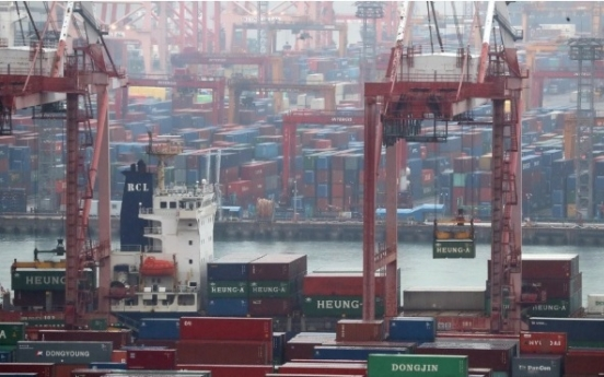 Korea's current account surplus narrows in Dec.