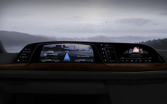 LG to supply P-OLED-based digital cockpit system for Cadillac