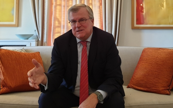 [Meet the diplomat] No changes for the time being: UK envoy