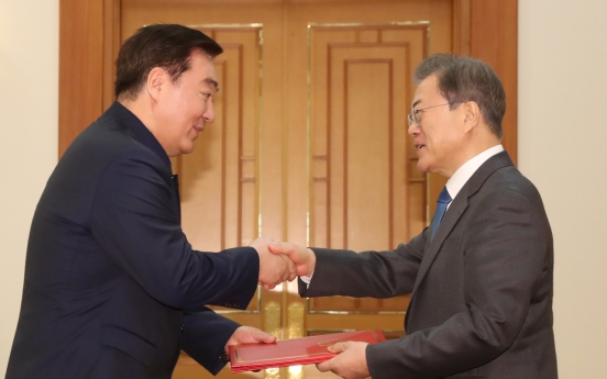 Moon to meet Chinese, Japanese ambassadors for their credentials