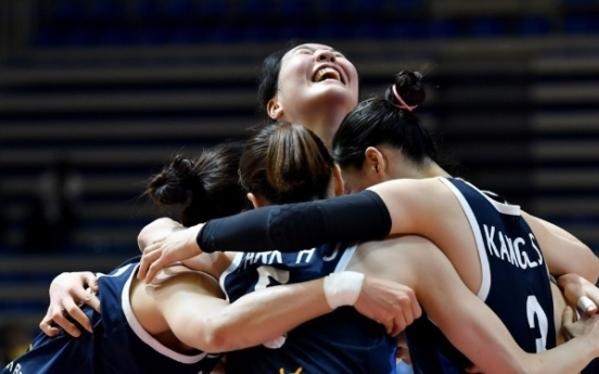 S. Korea beats Britain, keeps Olympic women's hoops dreams alive