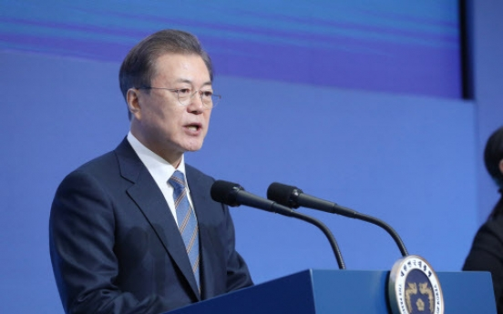 Moon stresses alliance, seeks US state governors' support for Korea peace process