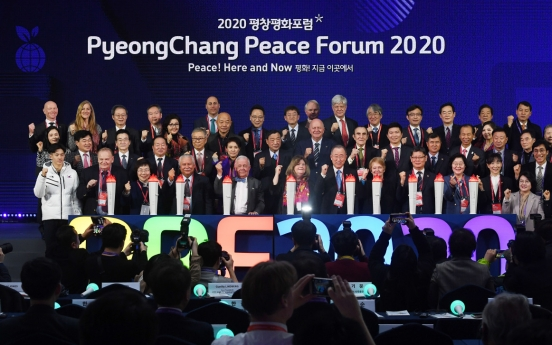 PyeongChang offers forum for peace once again