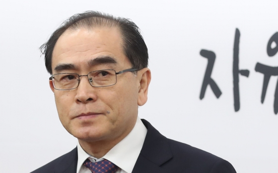 Ex-N. Korean envoy pledges to bring peninsula closer to unification