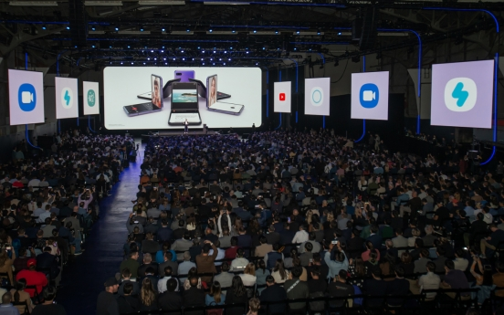 Despite coronavirus concerns, tech aficionados gather at Samsung Unpacked