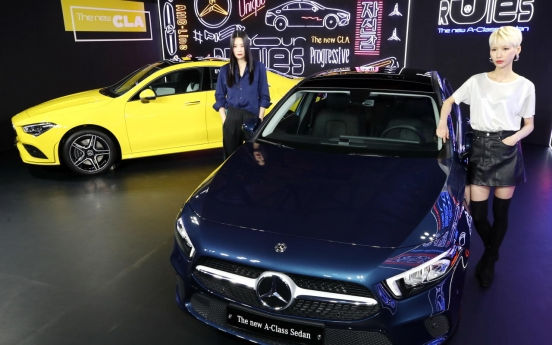 Mercedes-Benz launches first A-Class sedan in Korea
