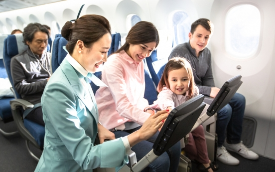 Korean Air to expand in-flight entertainment with more Korean contents