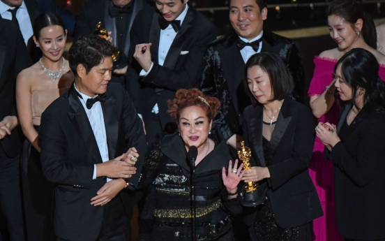 The elite S. Korean businesswoman behind Oscar-winning Parasite