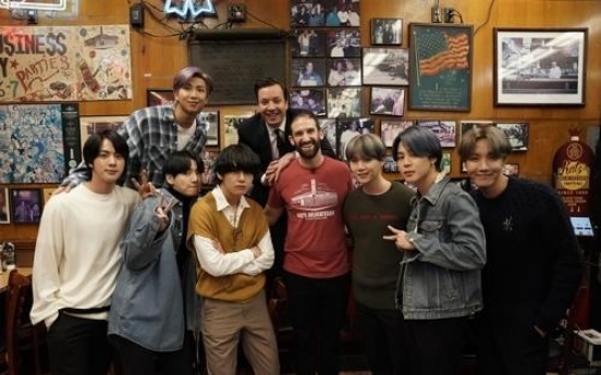 BTS to premiere new album's main track on Jimmy Fallon show
