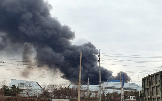 Fire at steel plant contained, no casualties reported