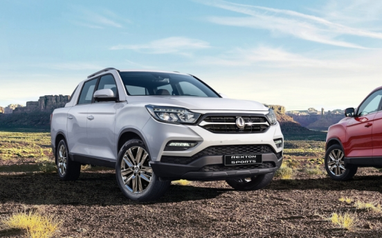 SsangYong's Rexton Sports logs 40,000 units of annual sales for 2 years