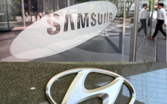Who will chair boards at Samsung, Hyundai Motor?