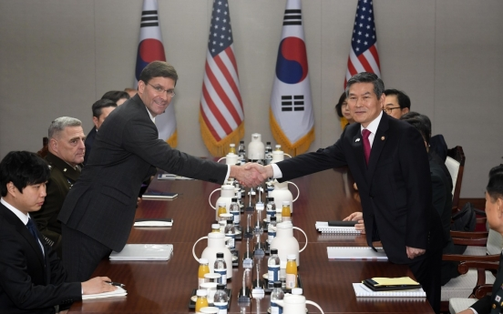 Defense chiefs of S. Korea, US to hold talks in Washington next week