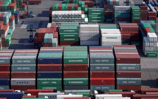Korea's exports up 21.9% in first 10 days of March