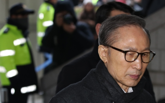 Appeals court raises prison term for ex-President Lee Myung-bak, bail canceled